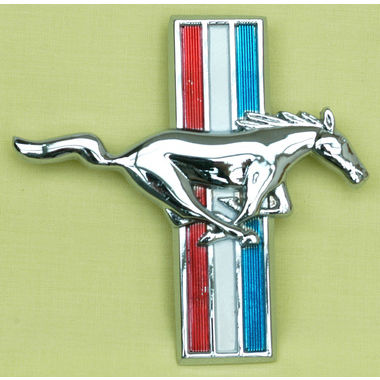 1965-1968 Mustang Running Pony Fender Ornament, RH