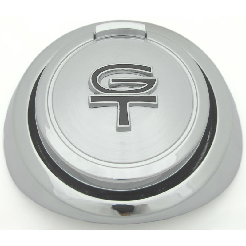 1967-1968 Mustang Pop Off Gas Cap, w/GT Letters, Ford