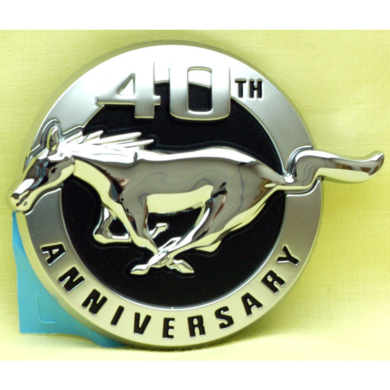 2004 Mustang 40th Anniversary Fender Emblem Lh Ford