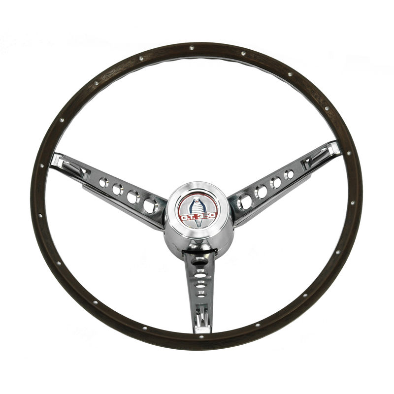 1966 mustang woodgrain steering wheel mounting kit shelby. Black Bedroom Furniture Sets. Home Design Ideas