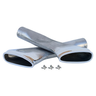 1967 Mustang Exhaust Tips, RH & LH, Eleanor Style