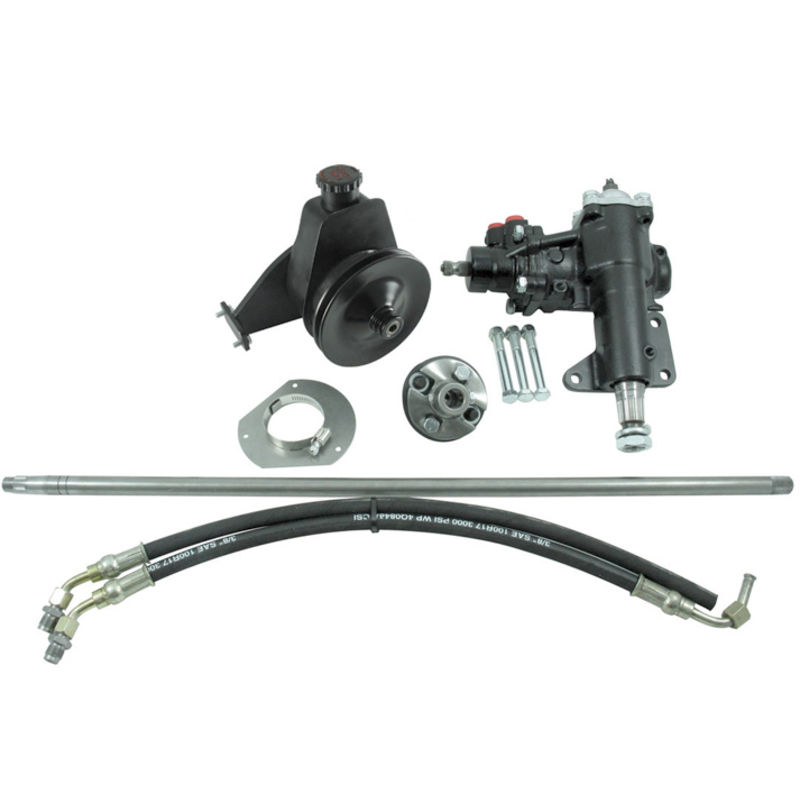 1965 1967 Mustang Power Steering Conversion Kit 6 Cyl M S 1 Shaft