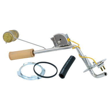 1971-1973 Mustang Fuel Sending Unit, Stainless Steel w/Brass Float, 2 Terminal