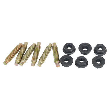 1967-1969 Mustang Headlight Extension Hardware Kit, Studs w/Nuts