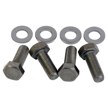 1965-1966 Mustang Front Shock Tower Mounting Bolt Set, Stainless Steel