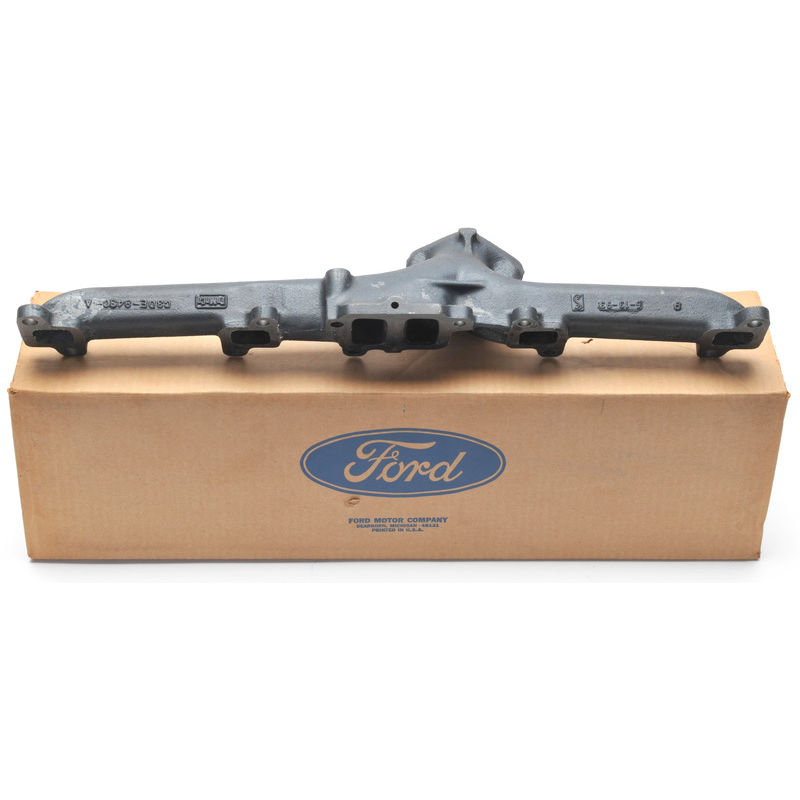 1965-1967 Mustang Exhaust Manifold, 6 cyl, 170, 200, exc  Imco, Ford NOS