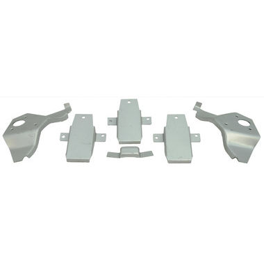 1967-1968 Mustang Interior Roof Bracket Kit, FB, 6 pcs