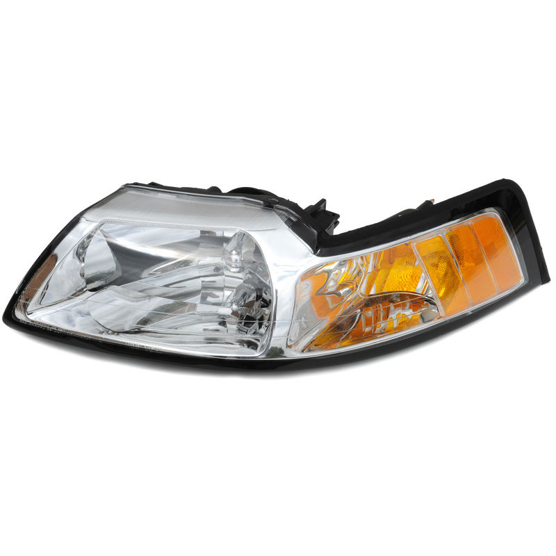 1999 2000 Mustang Headlight Assembly W Amber Lh