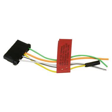 1965-1973 Mustang Voltage Regulator Plug, w/Pigtail