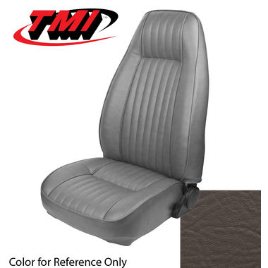 1983 Mustang L Cpe High Back Seat Upholstery- Vinyl, Walnut