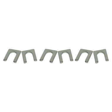 1965-1973 Mustang Bumper Bracket Shims, 6 pcs