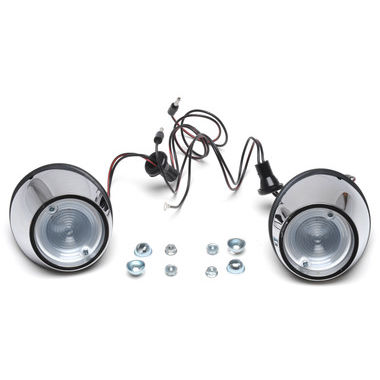 1965-1966 Mustang Back Up Light Kit, Complete