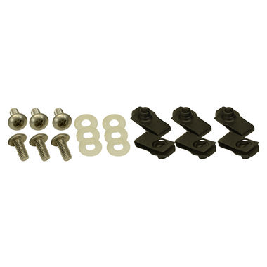 1971-1972 Mustang Bumper Bolt Kit, Front, 18 pcs