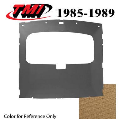 1985-1989 Mustang HB Sunroof Headliner Foam Back Cloth, Sand Beige