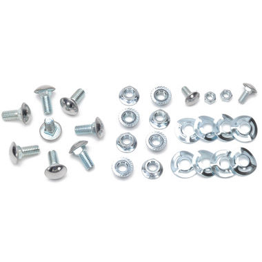 1965-1968 Mustang Bumper Bolt Kit, 28 pcs