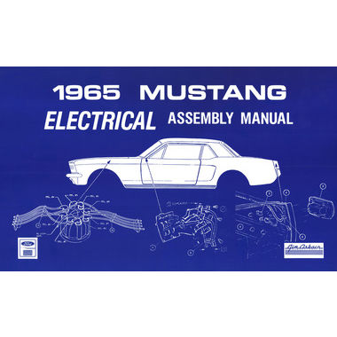 1965 Mustang Electrical Assembly Manual