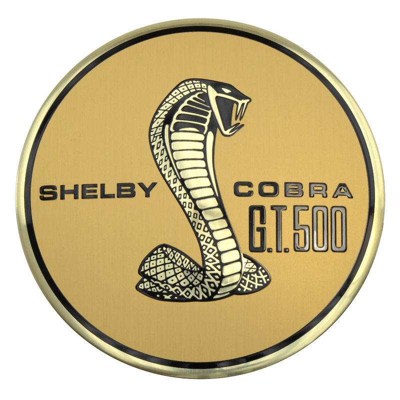 1967 Mustang Pop Off Gas Cap Emblem, Shelby Cobra GT500