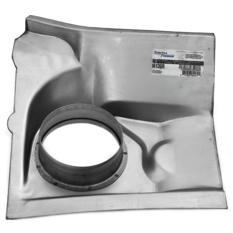 Mustang cowl vent repair panel inner rh