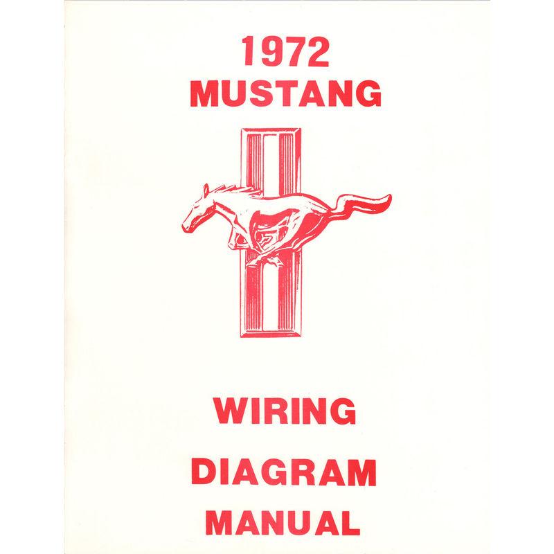 1972 Mustang Wiring Diagram