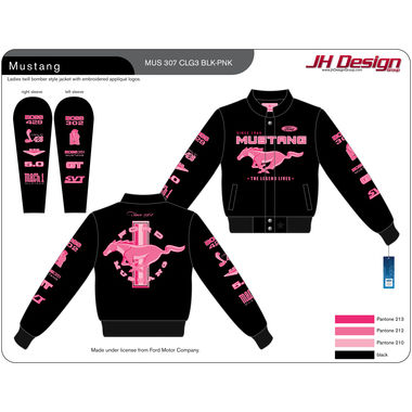 Mustang Ladies Twill Bomber Style Jacket